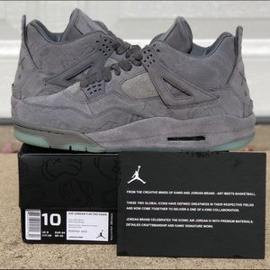 "Jordan 4 ""KAWS"". All sizes available DEADSTOCK!"